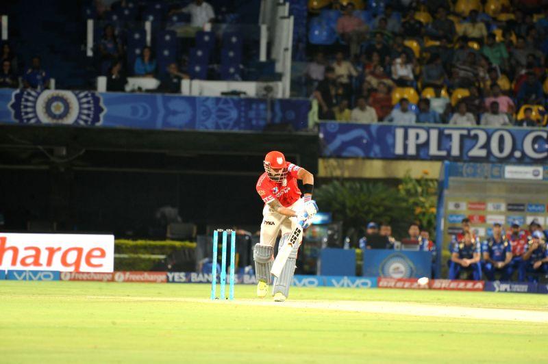 Murali Vijay of Kings XI Punjab in action during an IPL match between Mumbai Indians and Kings XI Punjab at Dr YS Rajasekhara Reddy ACA-VDCA Cricket Stadium in Visakhapatnam on May 13, ... - Rajasekhara Reddy A