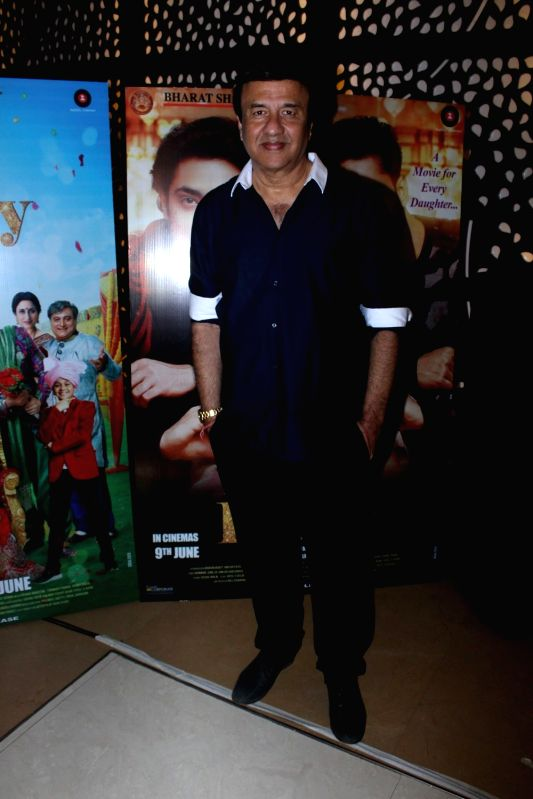 Music composer Anu Malik during the music and trailer launch of film Love You Family in Mumbai on May 15, 2017. - Malik