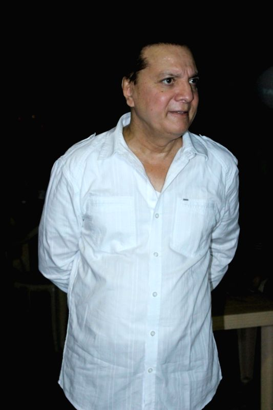 Music composer Jatin Pandit during the Rajesh Roy's Birthday Party in Mumbai on April 11, 2017. - Rajesh Roy