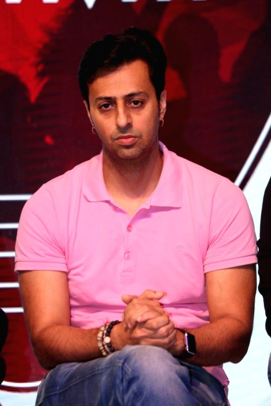Music composer Salim Merchant during a musical collaboration with YouTube in association with Qyuki in Mumbai on Aug 10, 2016.
