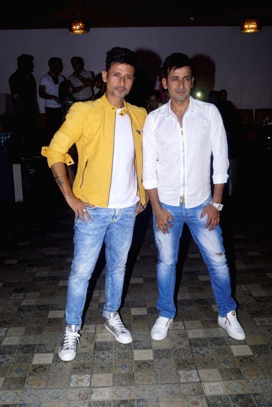 "Music composer-singer duo Manmeet Singh and Harmeet at the launch of their song ""Love Me"" in Mumbai on Aug 6, 2018. - Manmeet Singh"