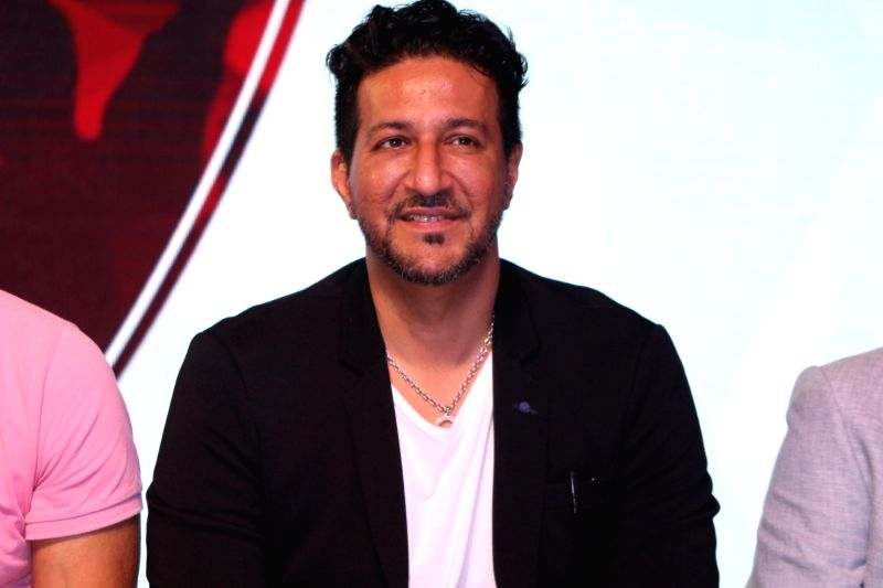 Music composer Sulaiman Merchant during a musical collaboration with YouTube in association with Qyuki in Mumbai on Aug 10, 2016.