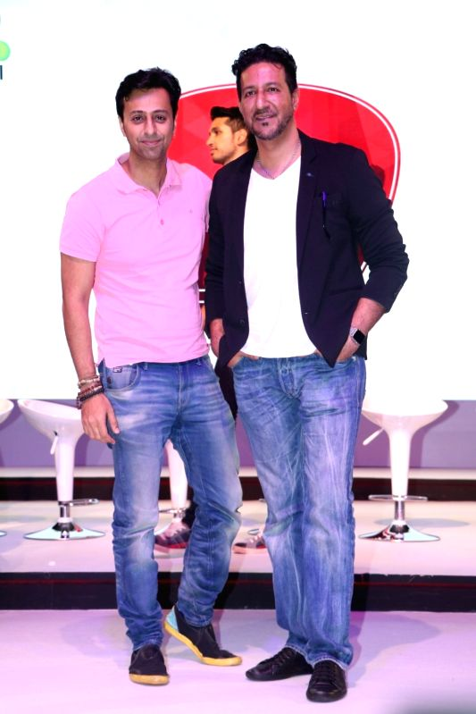Music composers Salim Merchant and Sulaiman Merchant during a musical collaboration with YouTube in association with Qyuki in Mumbai on Aug 10, 2016.