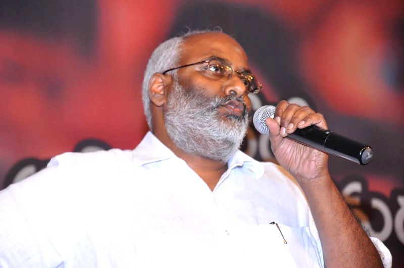 Music director MM Keeravani during the launch of telugu film Anamika audio release function held at Hyderabad