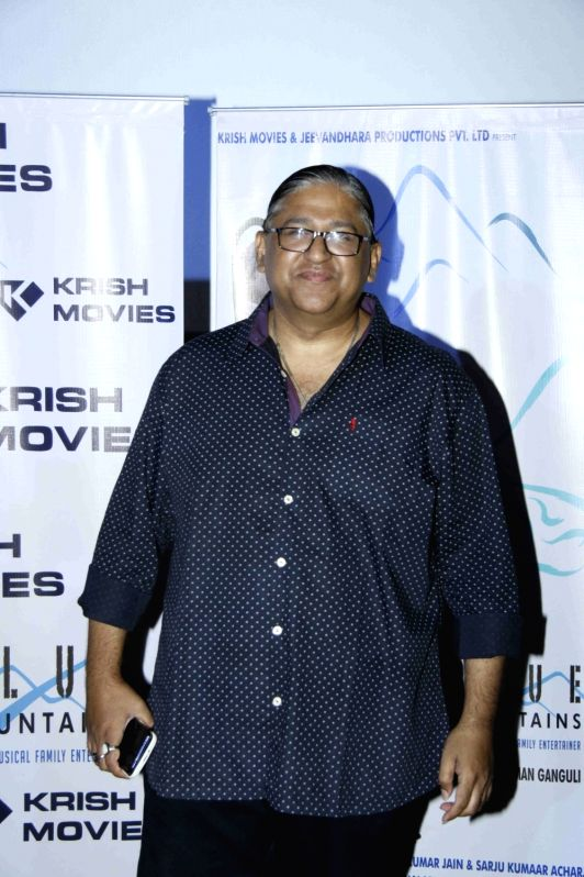 Music director Monty Sharma during the celebration for the best feature film Blue Mountain in 9th International Children's Film festival of India in Mumbai on Dec 2, 2015. - Monty Sharma