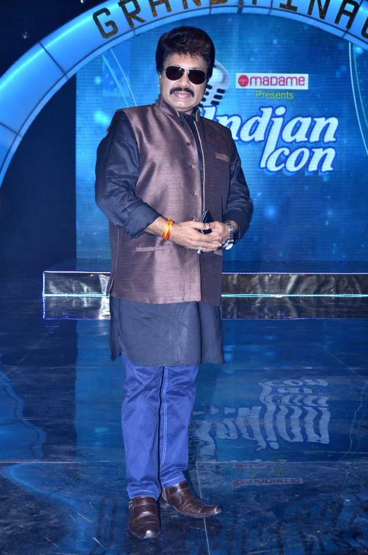 Music director Shravan during the on location shoot of film Ishq Ne Crazy Kiya Re in Mumbai, on August 2, 2014.