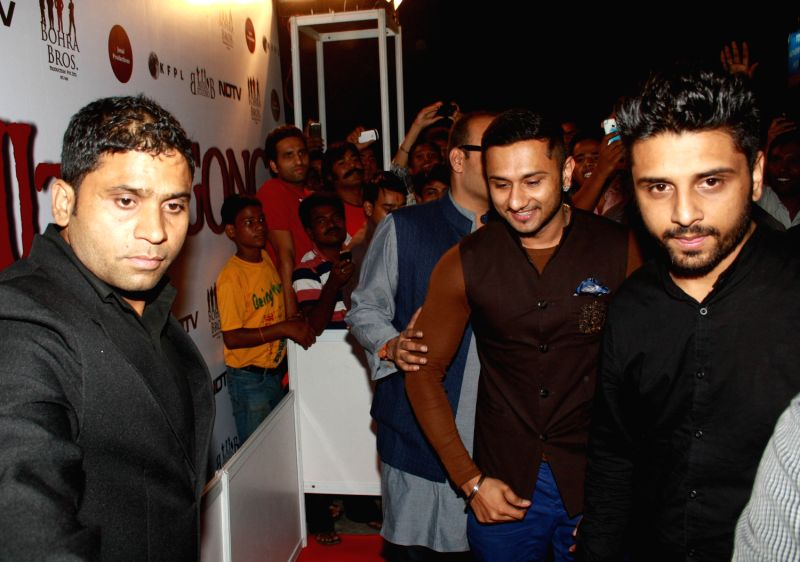 music producer singer and actor yo yo honey singh at the red carpet of