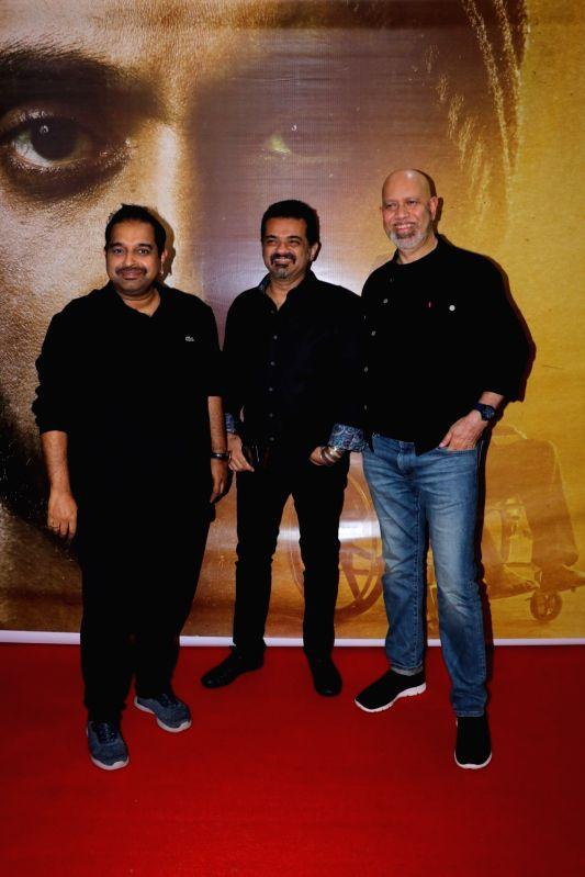 "Musical trio Shankar Mahadevan, Ehsaan Noorani and Loy Mendonsa at the success party of film ""Soorma"" in Mumbai on Aug 3, 2018."