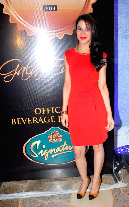 Muskaan Arora during the gala musical dinner hosted by Bulbeer Gandhi, Additional director, Asian Business Exhibition & Conferences (ABEC) for prominent jewelers across the country in Mumbai on .. - Muskaan Arora