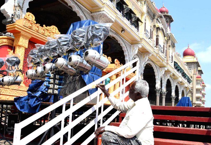 Mysuru decks up to host Dasara fest amid Covid scare.