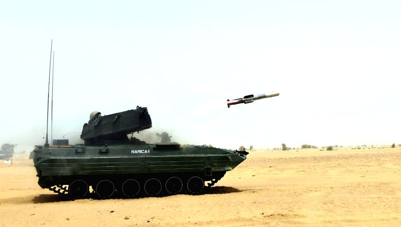 Pokhran: NAG, the DRDO's ingenuously developed 3rd Generation Anti-Tank Guided Missile (ATGM) successfully underwent a series of summer trials at Pokhran Field Firing Ranges carried out by the Indian Army during 7-18 July 2019.