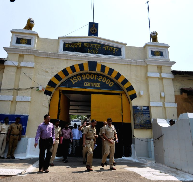 The High-security Nagpur Central Jail from where five prisoners escaped on March 31, 2015.