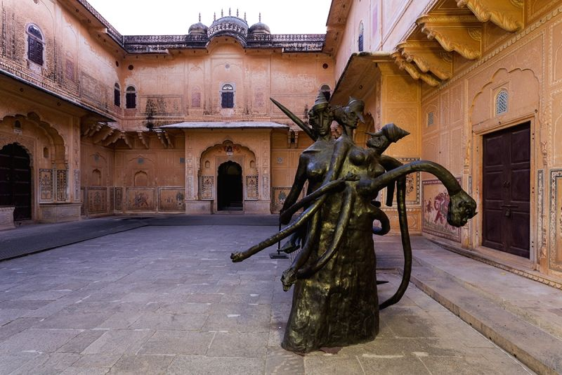 Nahargarh Fort turns into a contemporary art gallery