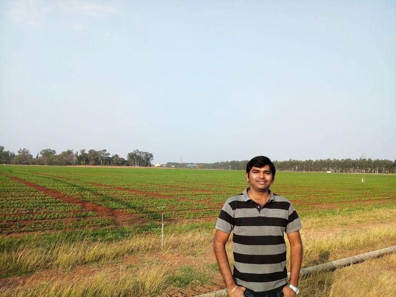 NaPanta Founder and Managing Director V. Naveen Kumar.