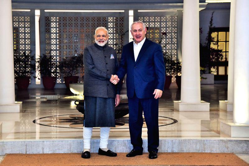 Narendra Modi and Benjamin Netanyahu.