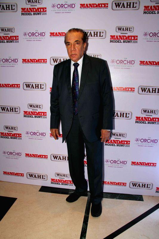 Nari Hira, CMD, Magna Publishing Company during the Wahl Mandate Male Model Hunt 2014, in Mumbai, on Aug. 24, 2014.