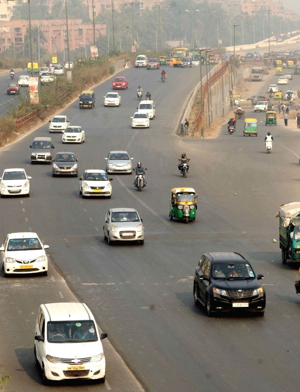 National Highway 24. (File Photo: Amlan Paliwal/IANS)