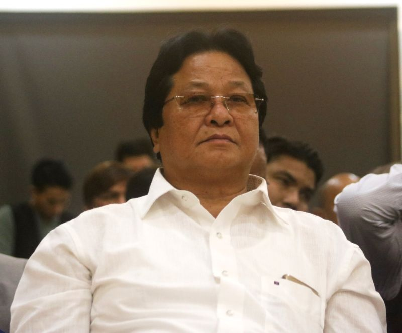 National People's Party (NPP) MLA Rajesh Tacho during the party's National Executive Committee Meeting, in New Delhi on July 21, 2018.