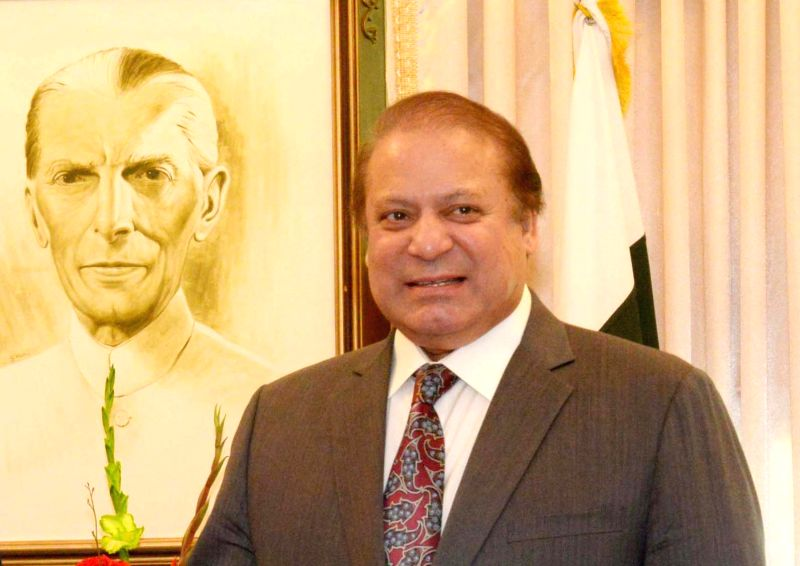Nawaz Sharif. (File Photo: Xinhua/PID/IANS)
