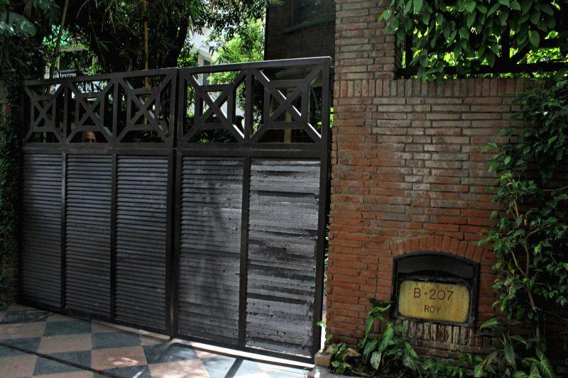 NDTV founder Pronnoy Roy's residence. (File Photo: IANS) - Pronnoy Roy