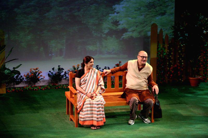 Neena Gupta and Anupam Kher - Anupam Kher