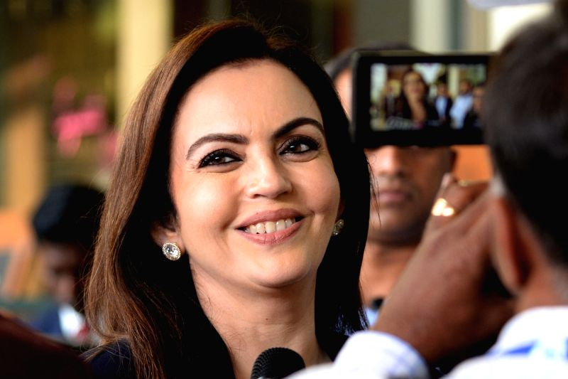 Neeta Ambani. (File Photo: IANS) - Neeta Ambani