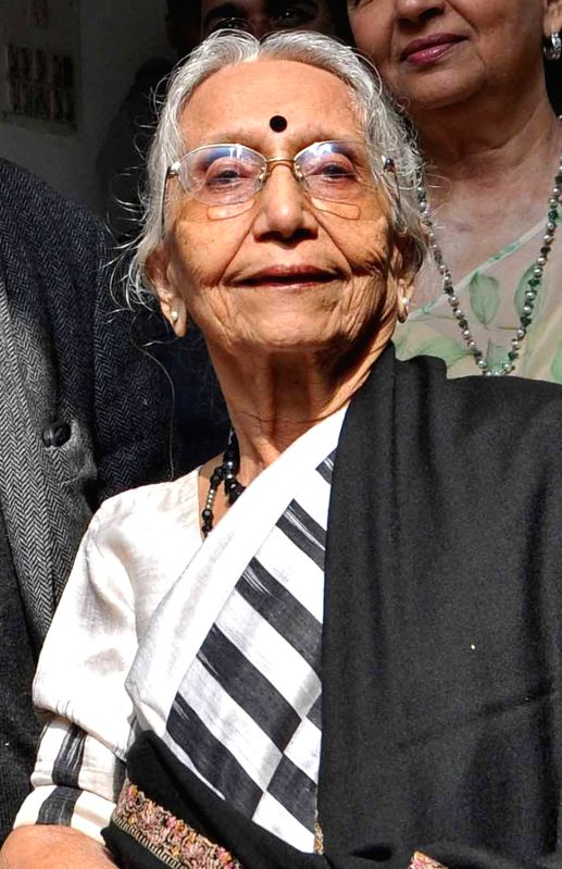 Netaji Subhas Chandra Bose's niece-in-law Krishna Bose. (File Photo: IANS) - Bose