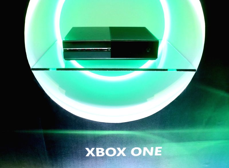 """New Delhi: A view of the newly launched Microsoft """"Xbox One X"""" -- the world's most powerful console that brings immersive 4K gaming and 4K entertainment to gamers; in New Delhi on Jan 23, 2018."""