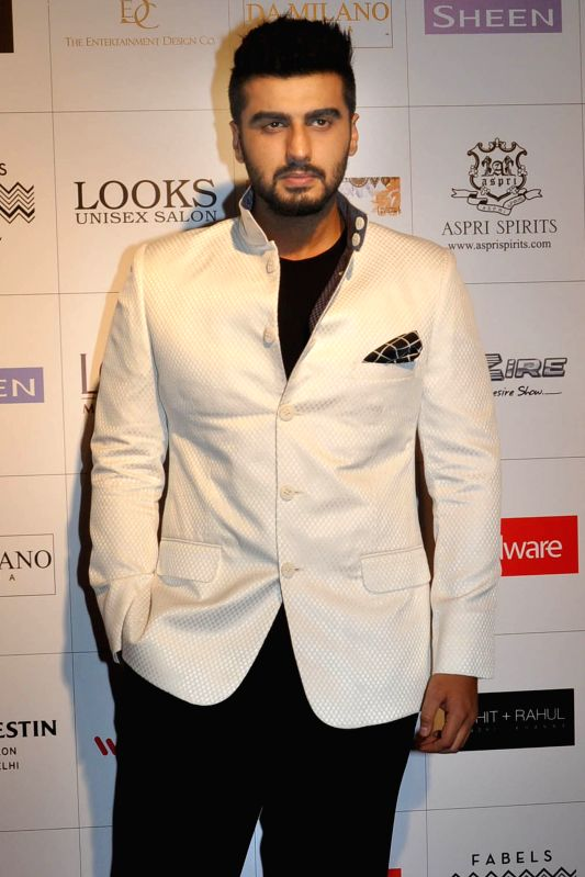 Actor Arjun Kapoor during the red carpet of Grand Finale of Miss India 2015, in Gurgaon on March 30, 2015. - Arjun Kapoor