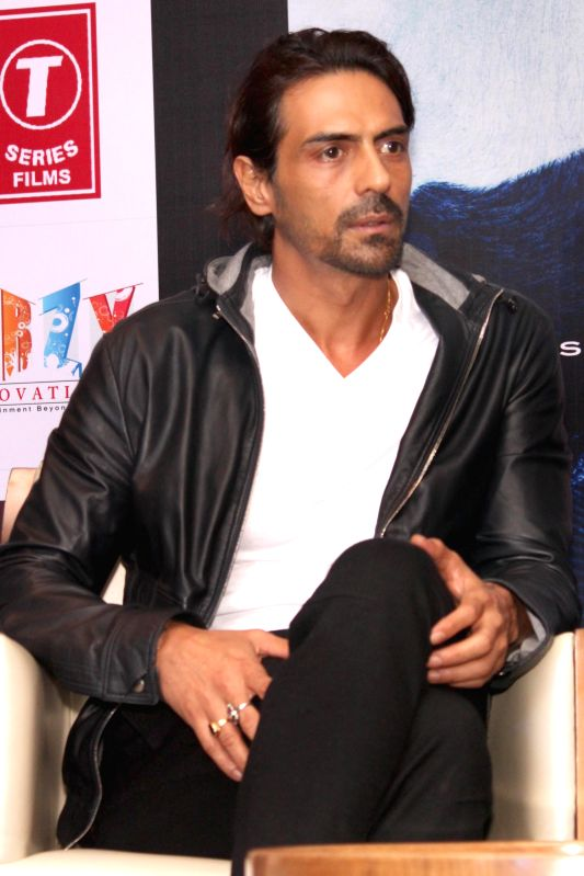 New Delhi:Actor Arjun Rampal during a press conference to promote his upcoming film `Roy` in New Delhi, on Feb 9, 2015. - Arjun Rampal