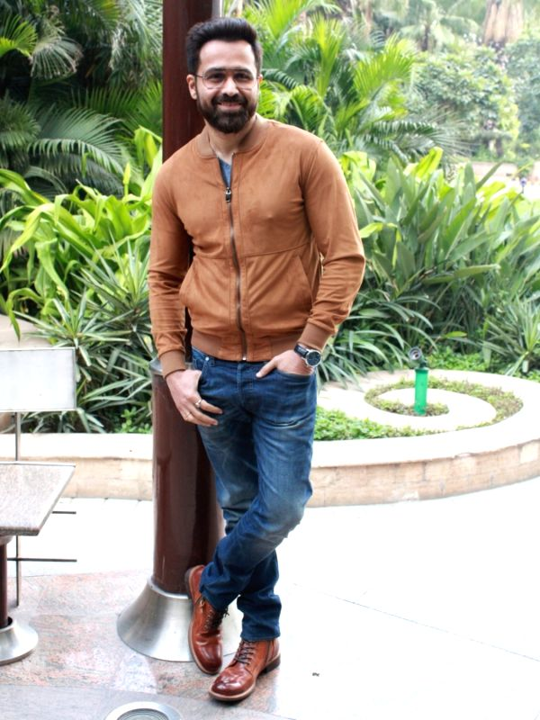"New Delhi: Actor Emraan Hashmi at a press conference to promote his upcoming film ""Why Cheat India"" in New Delhi, on Jan 11, 2019. (Photo: Amlan Paliwal/IANS)"