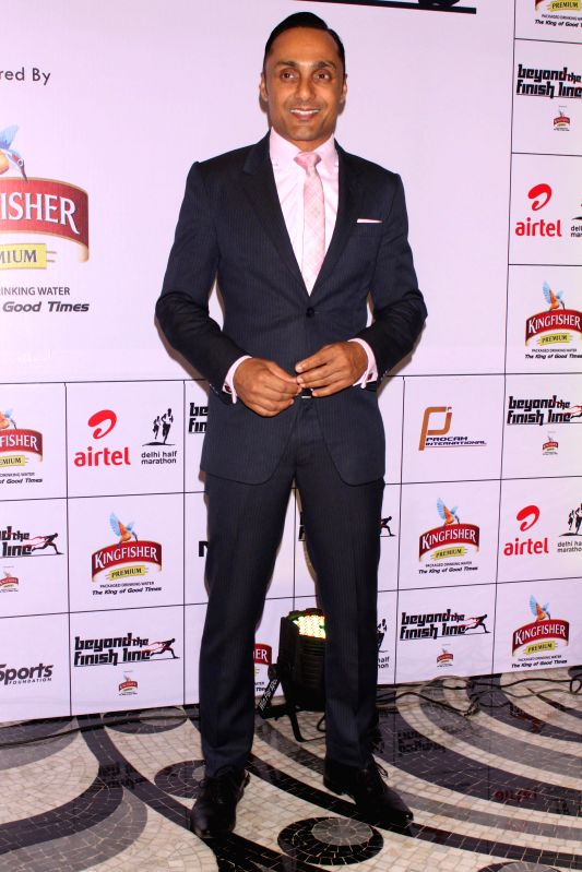 Actor Rahul Bose at an event  ``Beyond The Finish Line``, (an evening to celebrate the Joy of Sporting excellence with India`s unsung heroes) organised by Procam International & Go ... - Rahul Bose