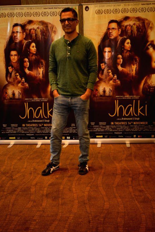 "New Delhi: Actor Sanjay Suri during the promotions of his upcoming film ""Jhalki"" in New Delhi on Nov 9, 2019. (Photo: IANS)"