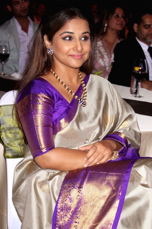 Actor Vidya Balan during GeoSpa asiaSpa India Awards 2014, in New Delhi on March 30, 2015. - Vidya Balan