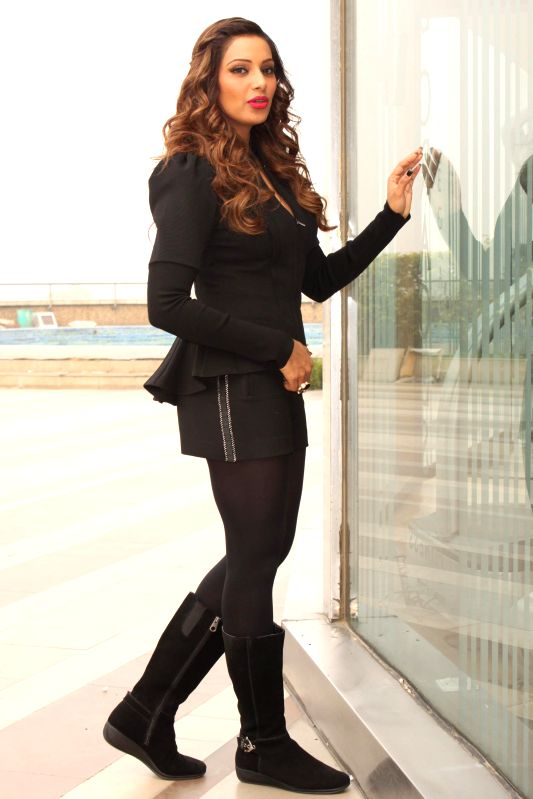 Actress Bipasha Basu during a press conference to promote her upcoming film `Alone` in New Delhi, on Jan 12, 2015. - Bipasha Basu