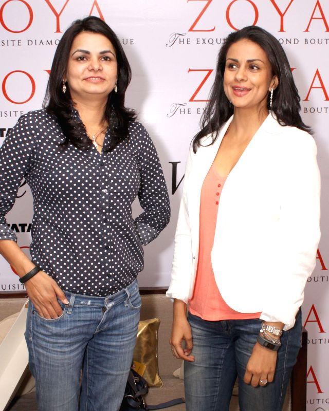 Actress Gul Panag at `The Spirit of the Zoya Woman` - a series of dialogues in New Delhi, on May 6, 2015.