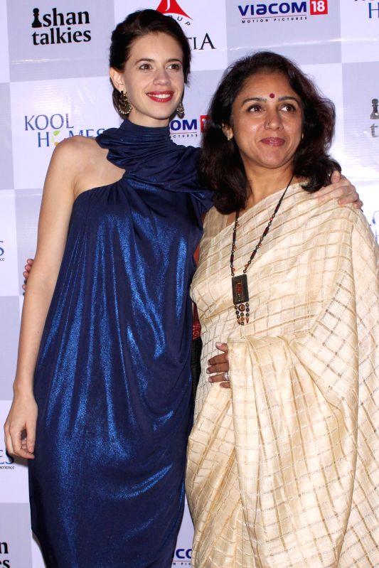 Actress Kalki Koechlin  at the red carpet of her film  `Margarita With A Straw` in New Delhi, on April 10, 2015. - Kalki Koechlin