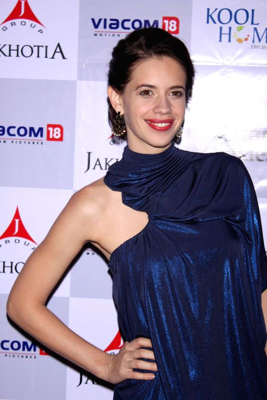 Actress Kalki Koechlin  at the red carpet of her film  `Margarita With A Straw` in New Delhi, on April 10, 2015. - Kalki Koechlin