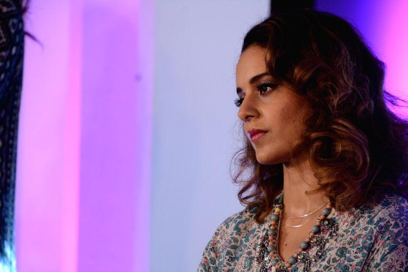 Kangana Ranaut during a programme - Kangana Ranaut