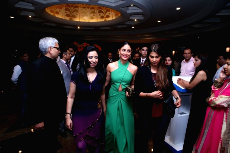 Actress Kareena Kapoor during the `India TV Yuva Awards 2015` in New Delhi, on April 18, 2015. - Kareena Kapoor