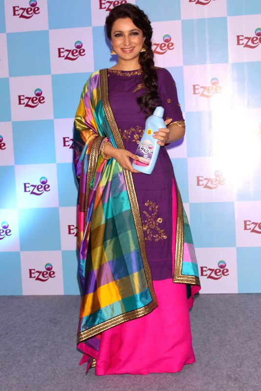 Actress Tisca Chopra during a programme in New Delhi, on Jan 22, 2015.