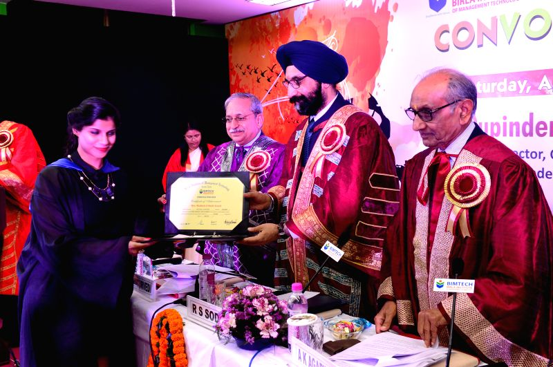 Amul Managing Director R S Sodhi during BIMTECH's 27th Convocation in Noida, on April 5, 2015.