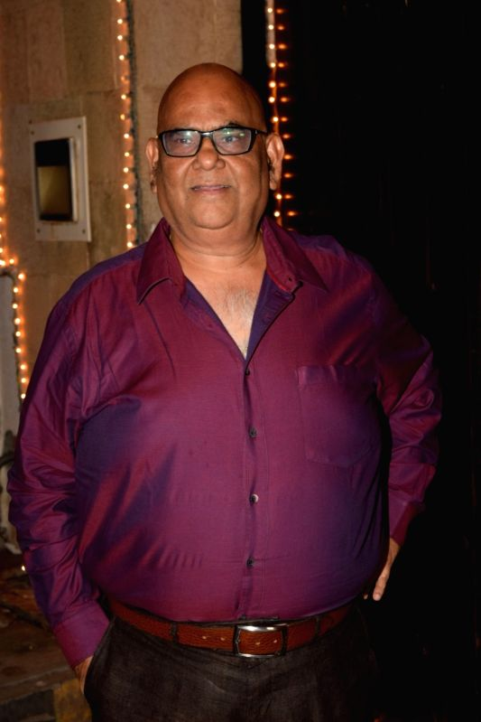 New Delhi, April 13 (IANS) As the world is staying indoors due to the outbreak of COVID-19 pandemic, veteran Bollywood actor-filmmaker Satish Kaushik is more than happy to celebrate his 64th birthday at home among his near and dear ones.	 (File Photo