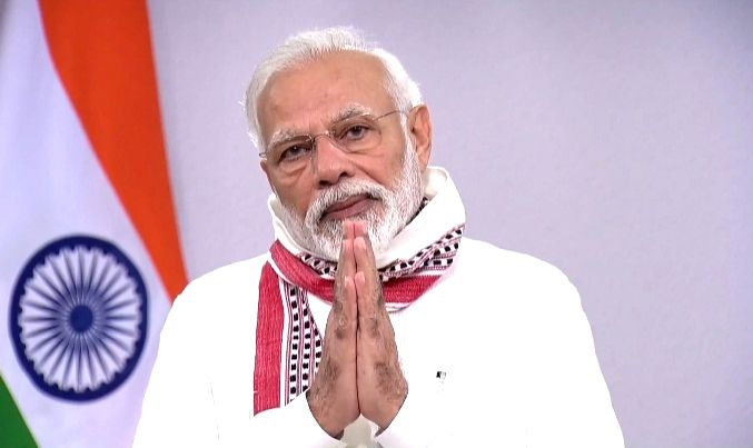 New Delhi, April 15 (IANS) Prime Minister Narendra Modi on Wednesday lauded leading Indian chess players for taking part in an online exhibition chess tournament to raise funds for the PM-CARES Fund that has been setup to assist in the fight against