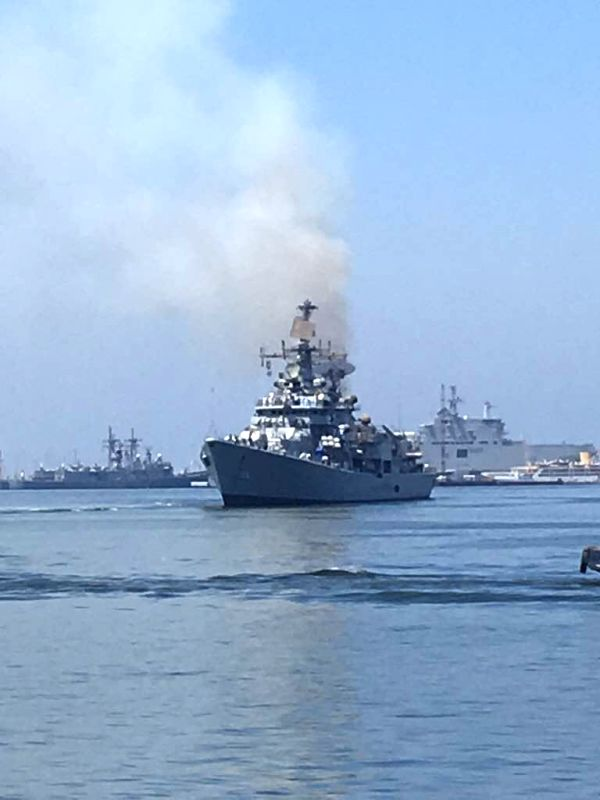 New Delhi, Aug 7 (IANS) With a considerable increase in the deployment of its warships in the Indian Ocean Region (IOR), the Indian Navy is providing strategic support to its fellow services in the ongoing activities related to the border tensions wi