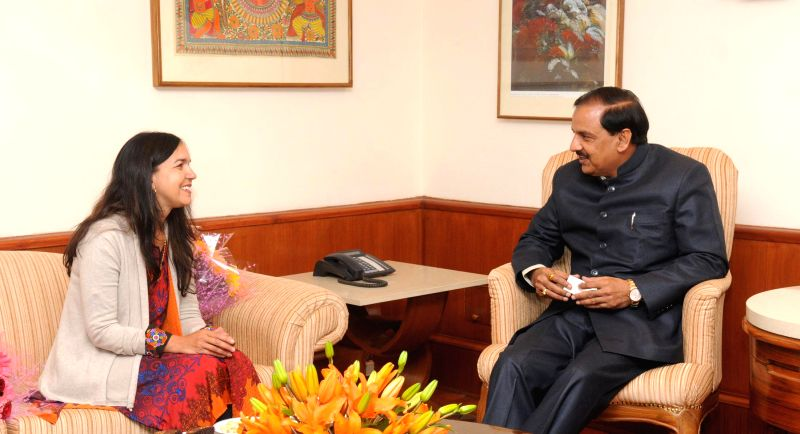Australian Senator Lisa Singh calls on the Union Minister of State for Culture (Independent Charge), Tourism (Independent Charge) and Civil Aviation, Dr. Mahesh Sharma, in New Delhi on Jan - Senator Lisa Singh