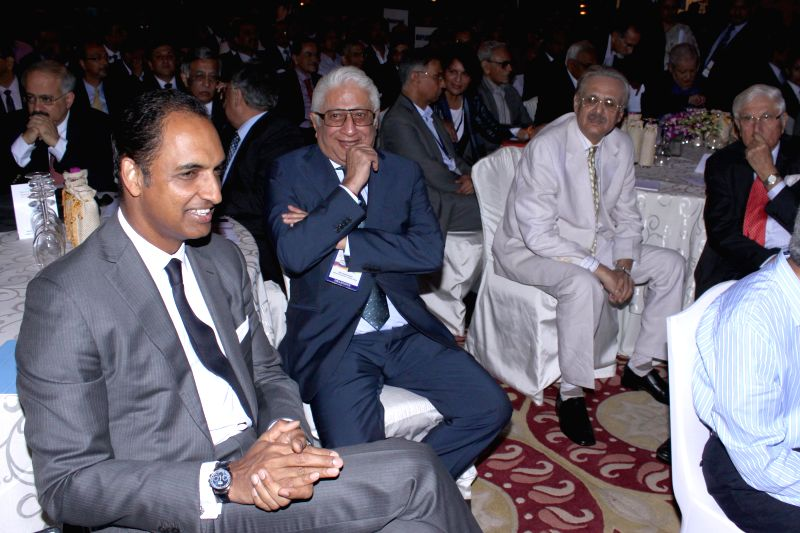 New Delhi:Business leaders at CII's Annual Session -` Building India : A Shared Responsibility` in New Delhi, on April 6, 2015.