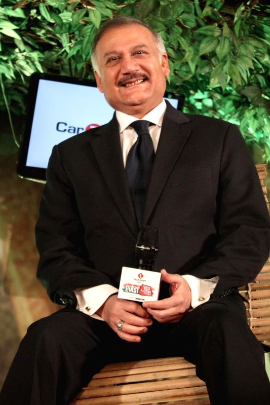 CBI Director Anil Sinha during a programme organised by Aaj Tak news channel in New Delhi, on Dec 13, 2014. - Sinha