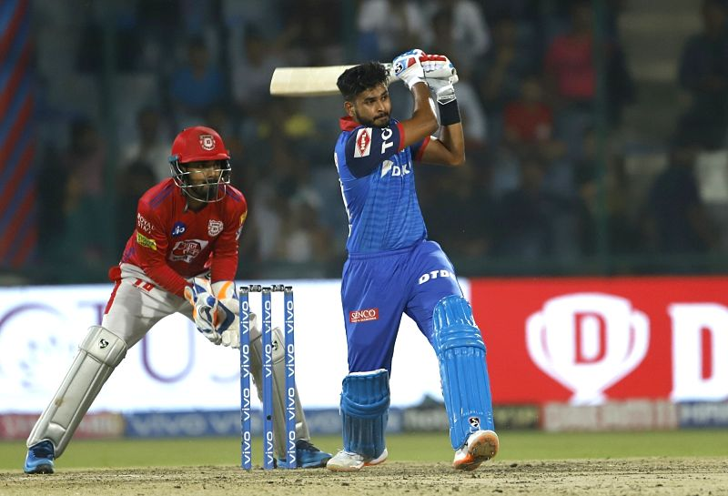 New Delhi: Delhi Capitals' skipper Shreyas Iyer in action during the 37th match of IPL 2019 between Kings XI Punjab and Delhi Capitals at Feroz Shah Kotla in New Delhi, on April 20, 2019. (Photo: Surjeet Yadav/IANS)