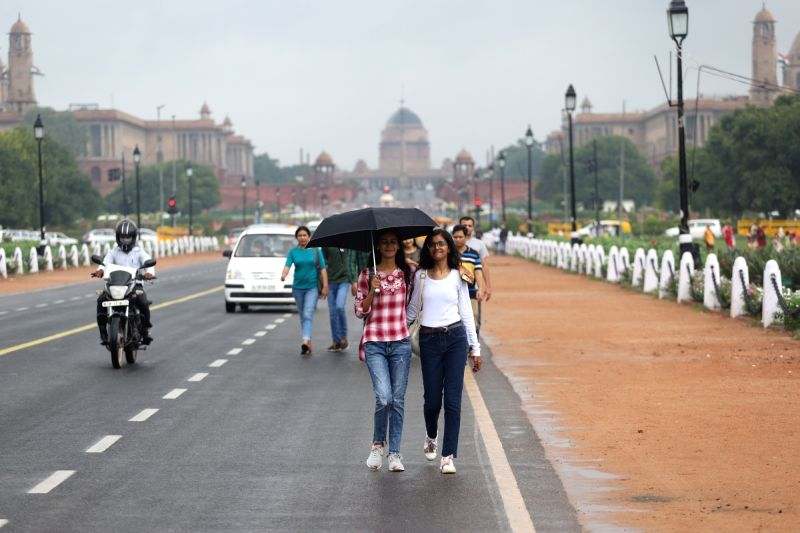 """New Delhi: Delhi hasn't breathed this clean in years. Rainfall in and around brought the capital's air quality on Saturday to the """"good"""" condition, while PM 2.5 levels, recorded at 15 by the US Embassy and 17 by Safar, were the lowest in this year. ("""